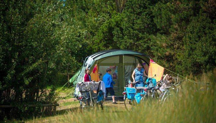 Trekkersveld - Camping De Kiekduun Ameland