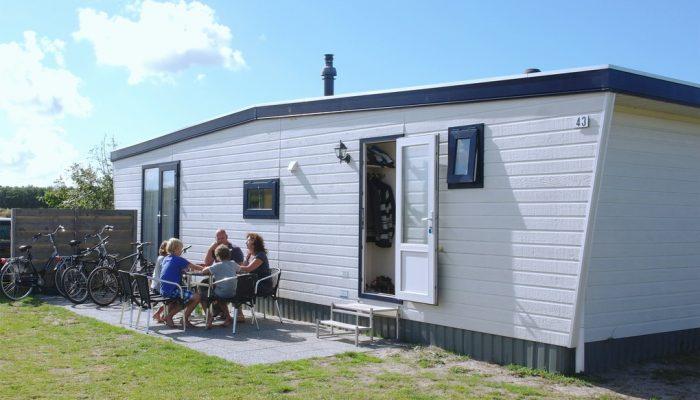 Chalet Deluxe - Camping De Kiekduun Ameland