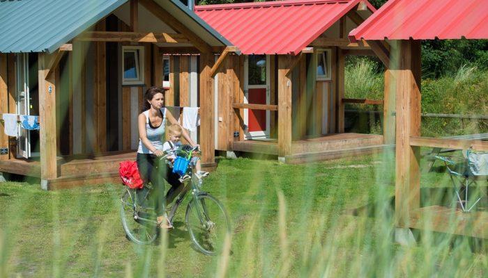 Trekkershut - Camping De Kiekduun Ameland