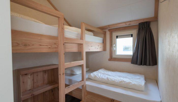Chalet 't Riet 87 stapelbed - Camping De Kiekduun Ameland